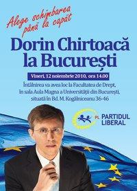 Dorin Chirtoacă în București