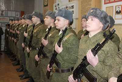 Militarii de la Tiraspol, oameni de carieră