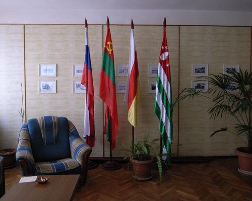 Transnistria şi Osetia de Sud îşi strâng mâna