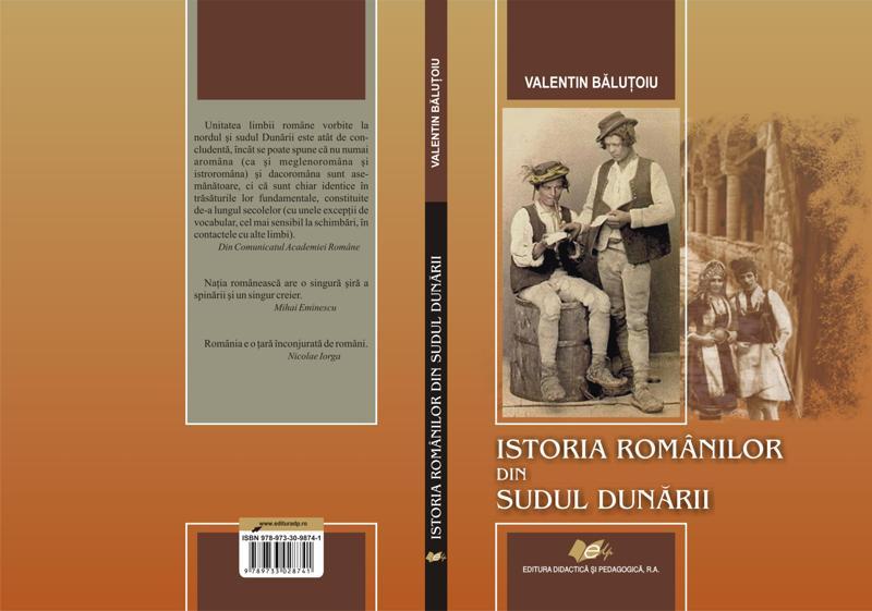 """""""Istoria românilor din sudul Dunării"""""""