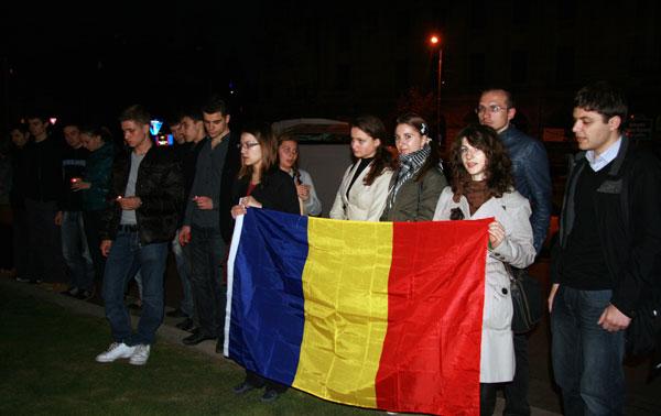 Bucureştiul nu uită de protestele din aprilie 2009 (FOTO)