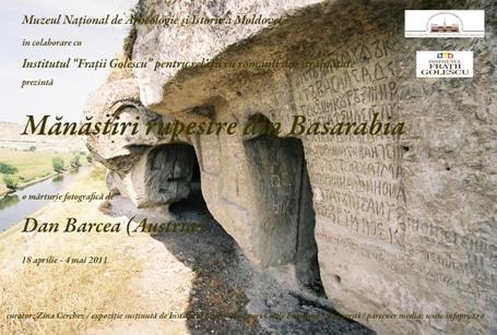 Expoziţie de fotografii: Mănăstiri rupestre din Basarabia