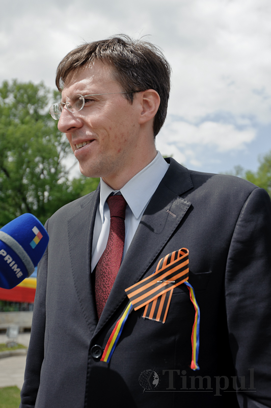 Dorin Chirtoacă: Am primit panglica tricoloră cu mai multă plăcere