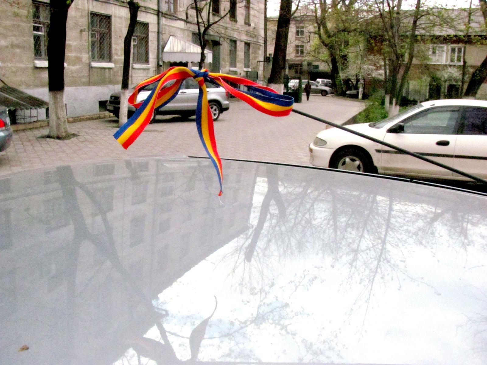 """,,Tricolorul solidarităţii"""" la Chişinău"""