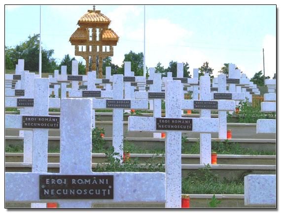 Omagiu adus ostașilor români căzuți în luptele crâncene de la Țiganca