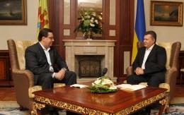 Marian Lupu în vizită la Viktor Ianukovici