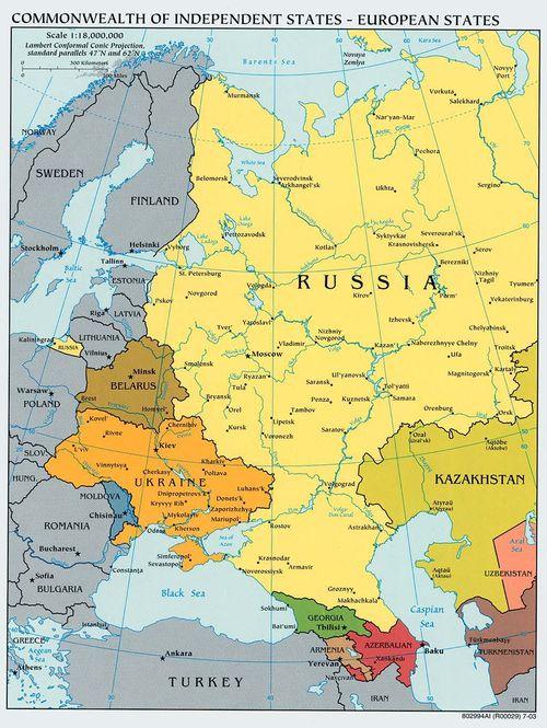 """Expert rus: Se desfășoară procesul de formare a regiunii """"noua Europă de Est"""""""