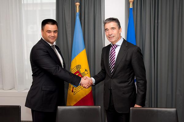 Laude pentru Moldova de la Anders Fogh Rasmussen