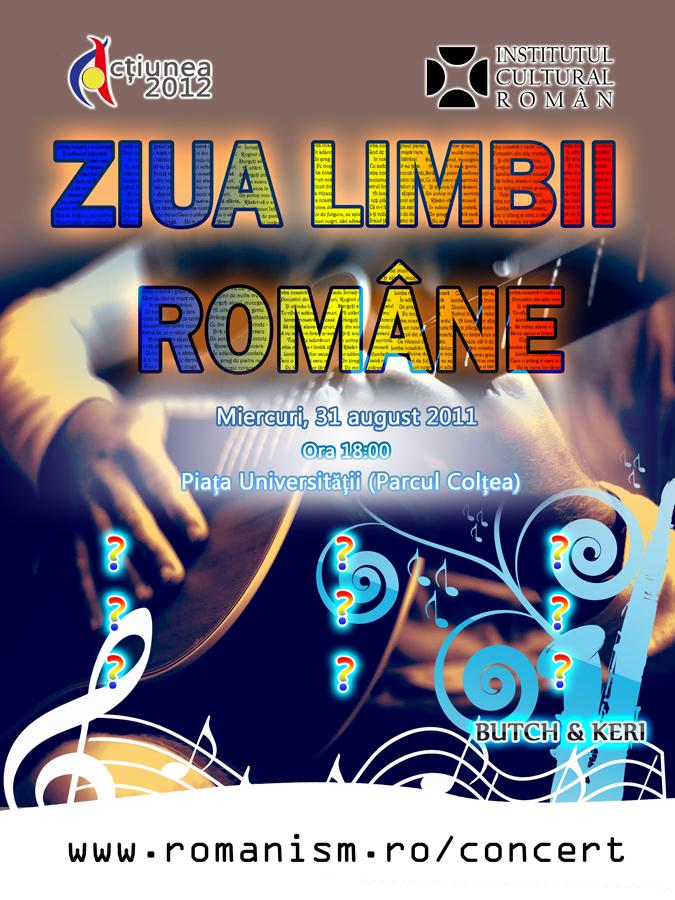 Ziua Limbii Române la Chişinău şi Bucureşti