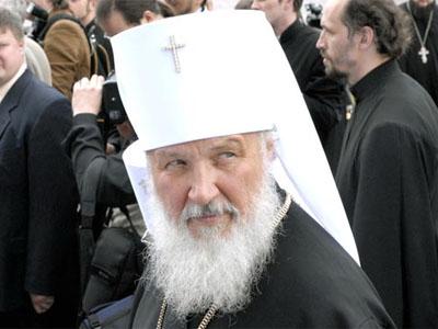 Patriarhul Kiril nedorit în Ucraina