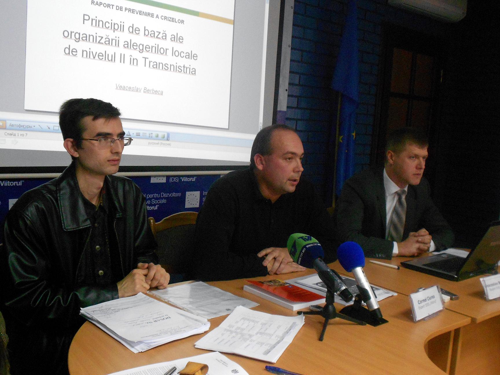 Cum se pot organiza alegeri în Transnistria