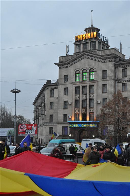 Ziua Marii Uniri sărbătorită la Chișinău (FOTO)