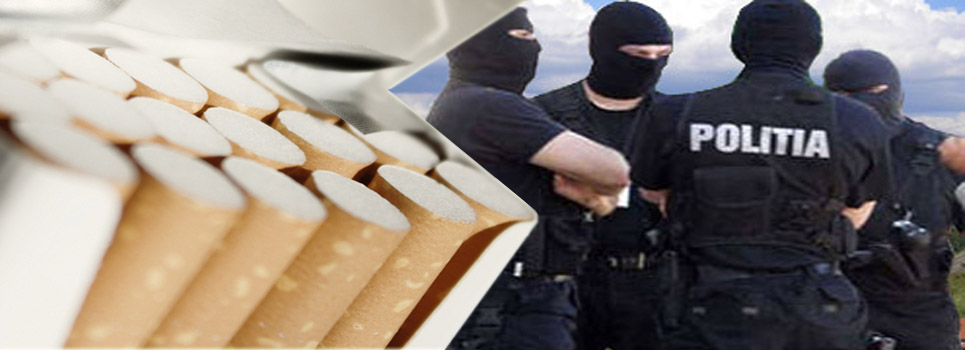 Skoda captușită cu mii de țigarete de contrabandă