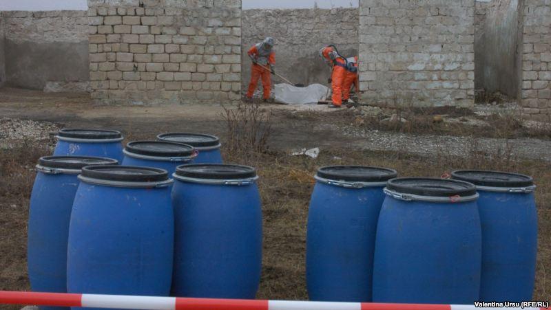 150 de tone de pesticide vor fi evacuate din regiunea transnistreană