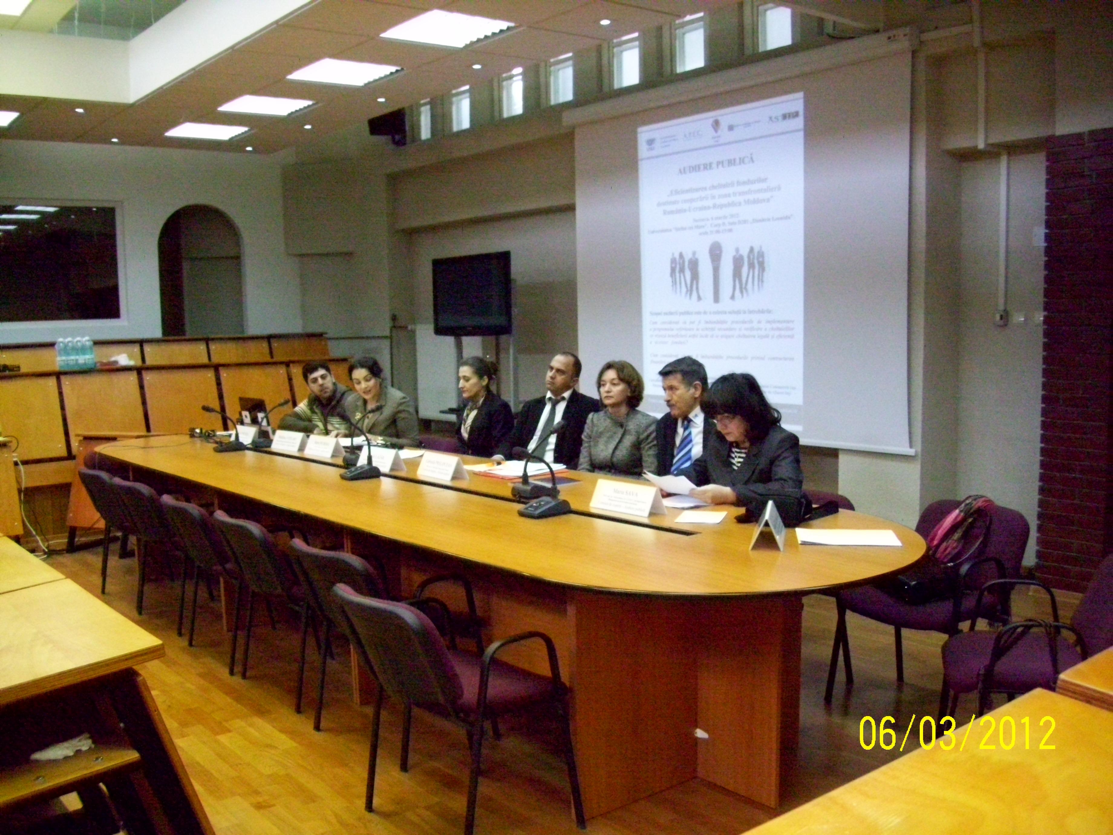 Eficientizarea cheltuirii fondurilor europene în zona transfrontalieră România – Ucraina – Republica Moldova
