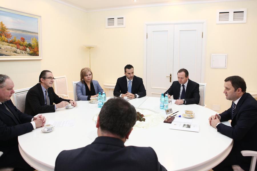 Premierul Vlad Filat a avut astăzi o întrevedere cu oficiali din Regatul Belgiei