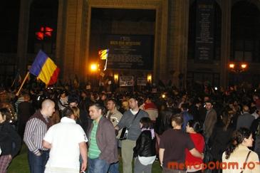 Bucureştenii vor marca împlinirea a trei ani de la manifestaţiile anticomuniste de la Chişinău
