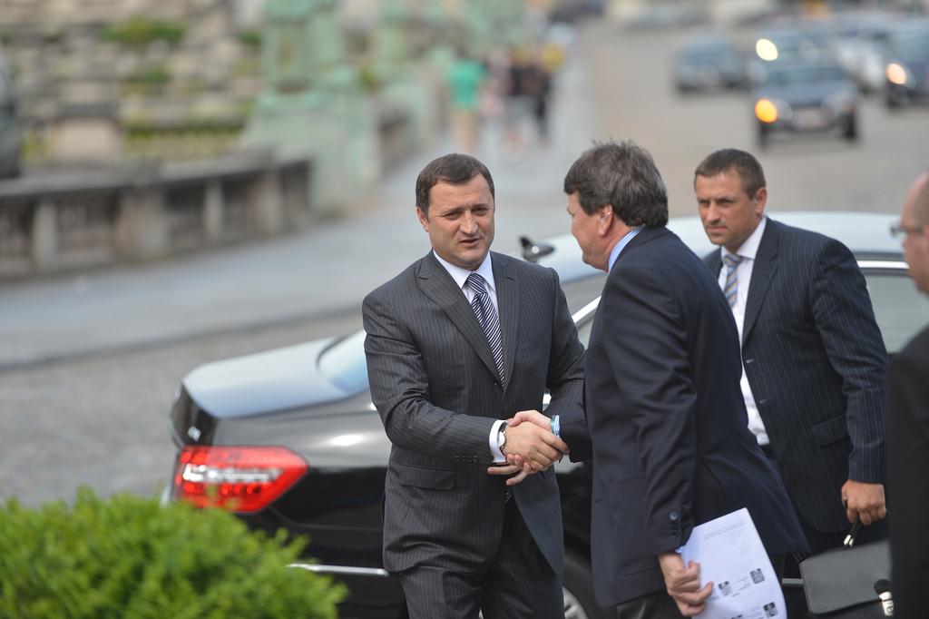 Vlad Filat a participat la Summit-ul Partidului Popular European