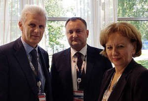 Igor Dodon si Zinaida Greceanii s-au întâlnit cu Andrei Fursenko