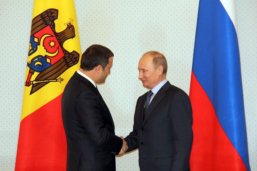 Putin: Investițiile ruse în Republica Moldova – un domeniu de perspectivă