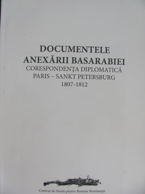 Anexarea Basarabiei de la 1812 în documente