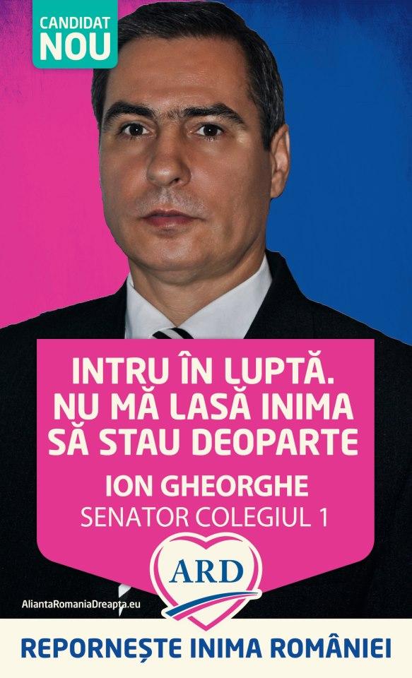 """Ion Gheorghe: """"Numai cu UNITATE vom avea UNITATE, numai cu LIBERTATE vom avea LIBERTATE"""""""
