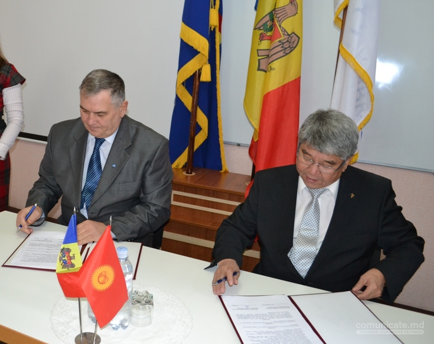Acord de Colaborare între Camerele de Comerț și Industrie a R. Moldova și Kirghiziei