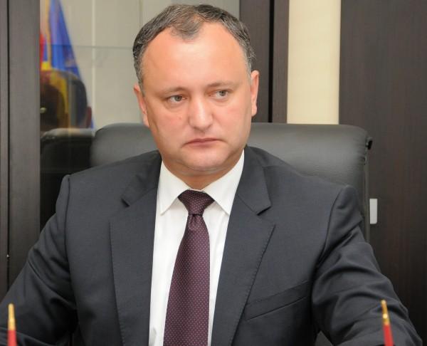 Igor Dodon a plecat la Moscova