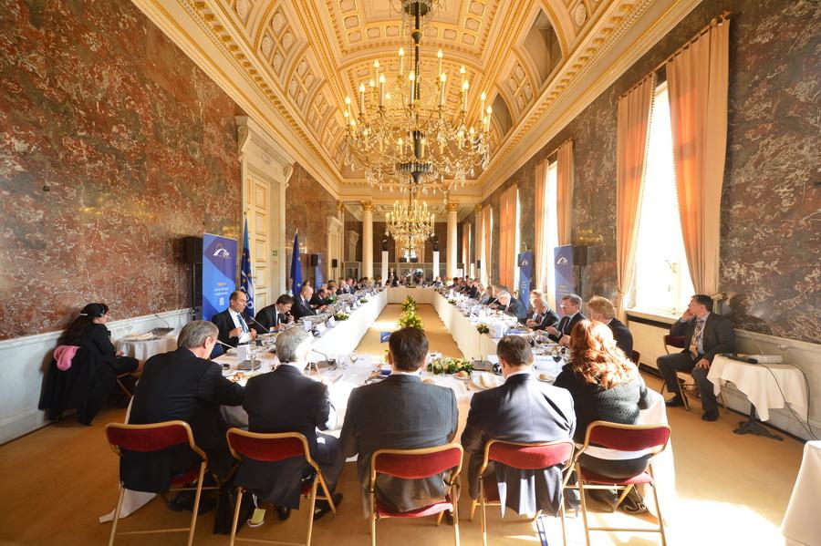 Vlad Filat a participat la Summit-ul PPE desfăşurat la Bruxelles