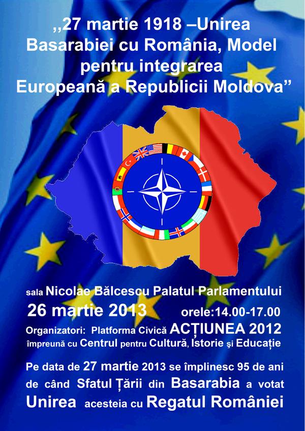 Unirea de la 1918 dezbătută în Parlamentul României