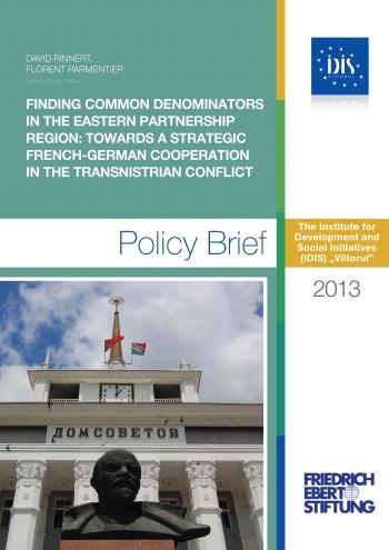 IDIS Viitorul: Despre colaborarea franco-germană și conflictul transnistrean