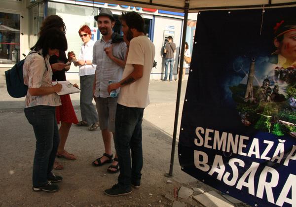 Viaţa socială a punctelor de colectare pentru Basarabia