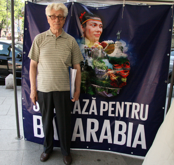 Voluntarul zilei: Victor Gorbatâi