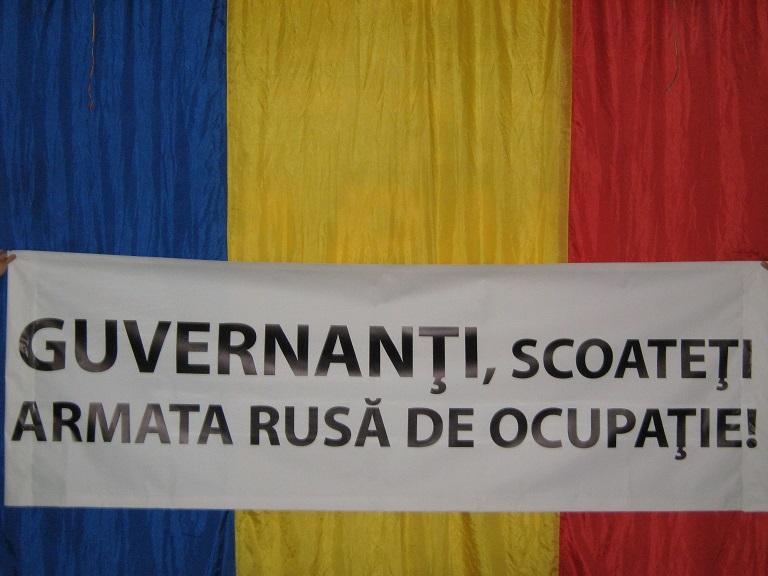 Marşul Demnităţii Naţionale la Chişinău