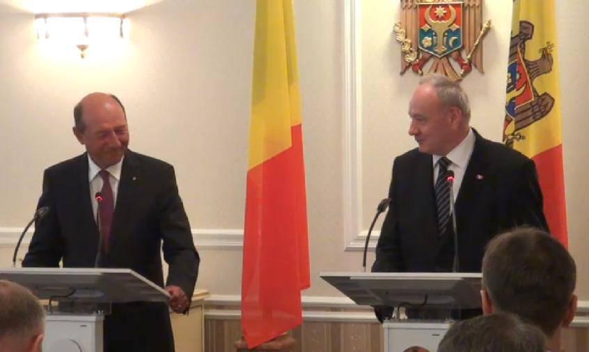 Traian Băsescu: România şi Republica Moldova au un parteneriat de sânge