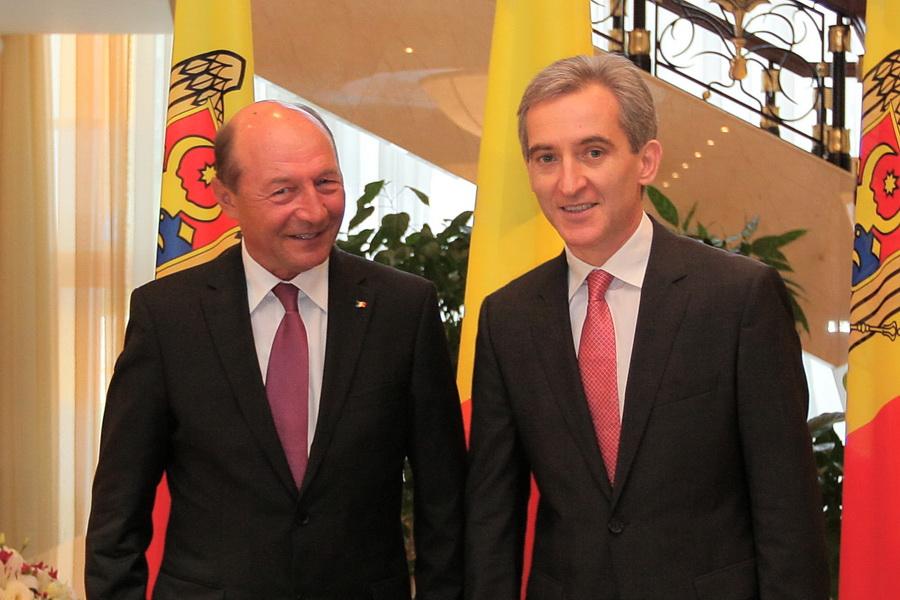 Concluzia întrevederii Leancă-Băsescu: Rep. Moldova va valorifica ajutorul financiar oferit de România