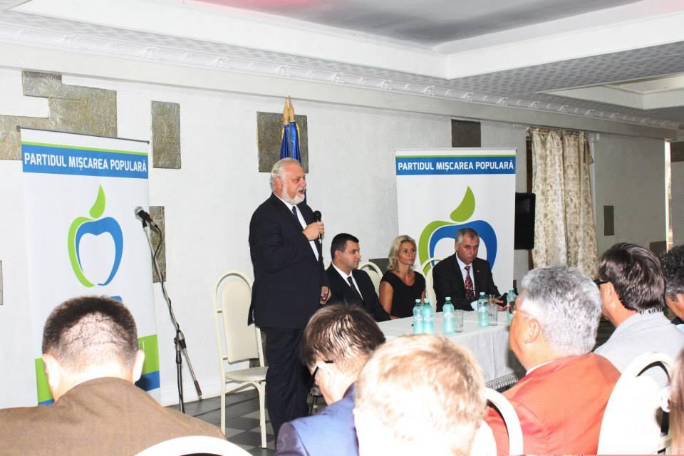 Partidul Mișcarea Populară și-a deschis filială la Chișinău