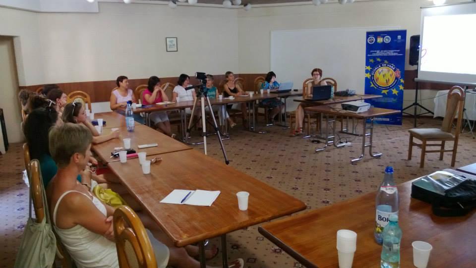 """Ultima zi de cursuri pentru participanții la Școala de vară """"Noi, cetățeni interactivi ai Europei"""""""