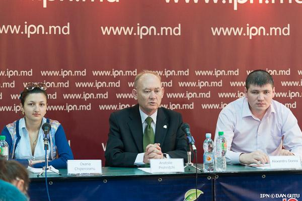 Partidul Verde Ecologist din Republica Moldova protestează la Bucureşti