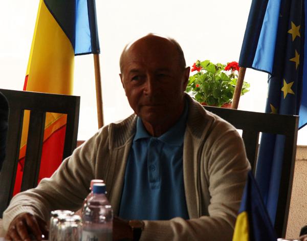 Traian Băsescu în Harghita: Unirea este soluția de viitor pentru Rep. Moldova, de egal interes pentru România