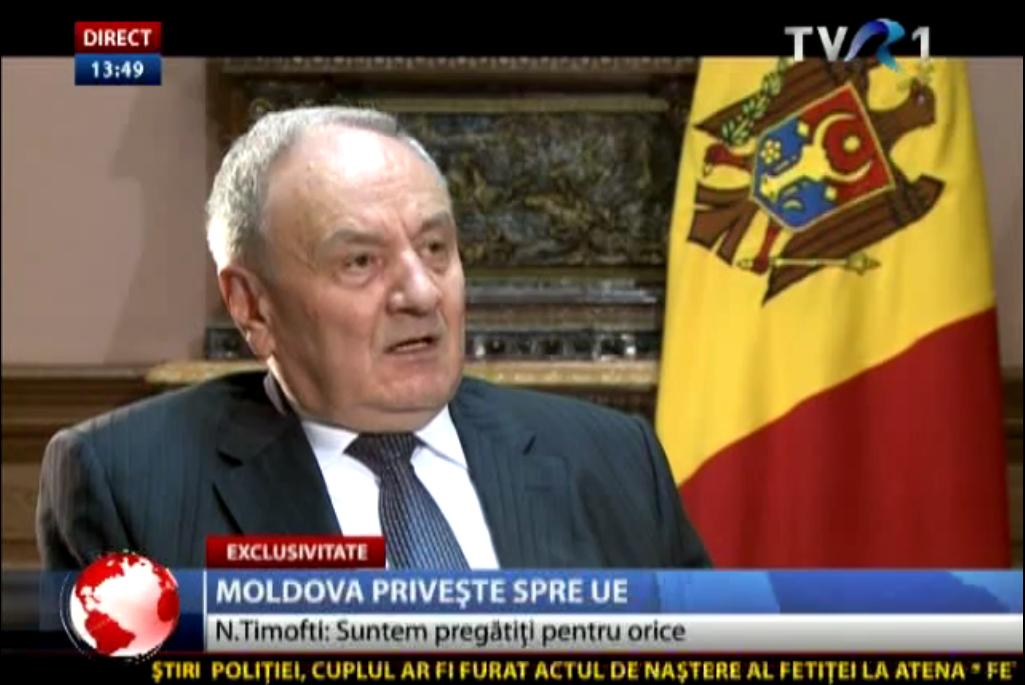 Nicolae Timofti: România și Rep. Moldova sunt două state românești