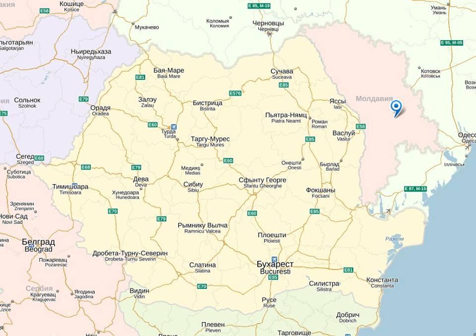 (FOTO) Rusia a şters Republica Moldova de pe hartă