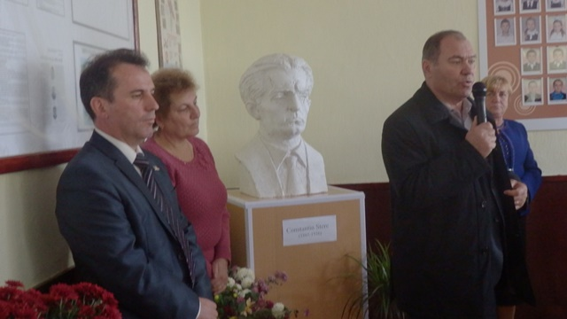 Bustul lui Constantin Stere a fost inaugurat la Cimișlia