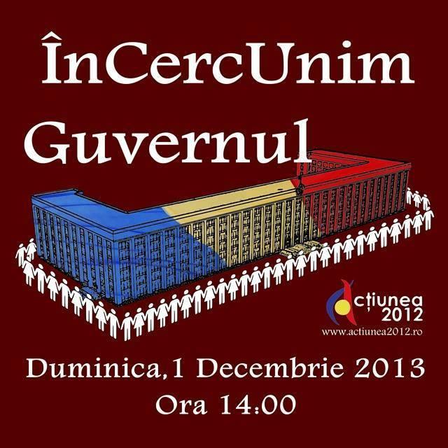 Guvernul de la Chișinău va fi ÎnCercUnit de Ziua Națională a României