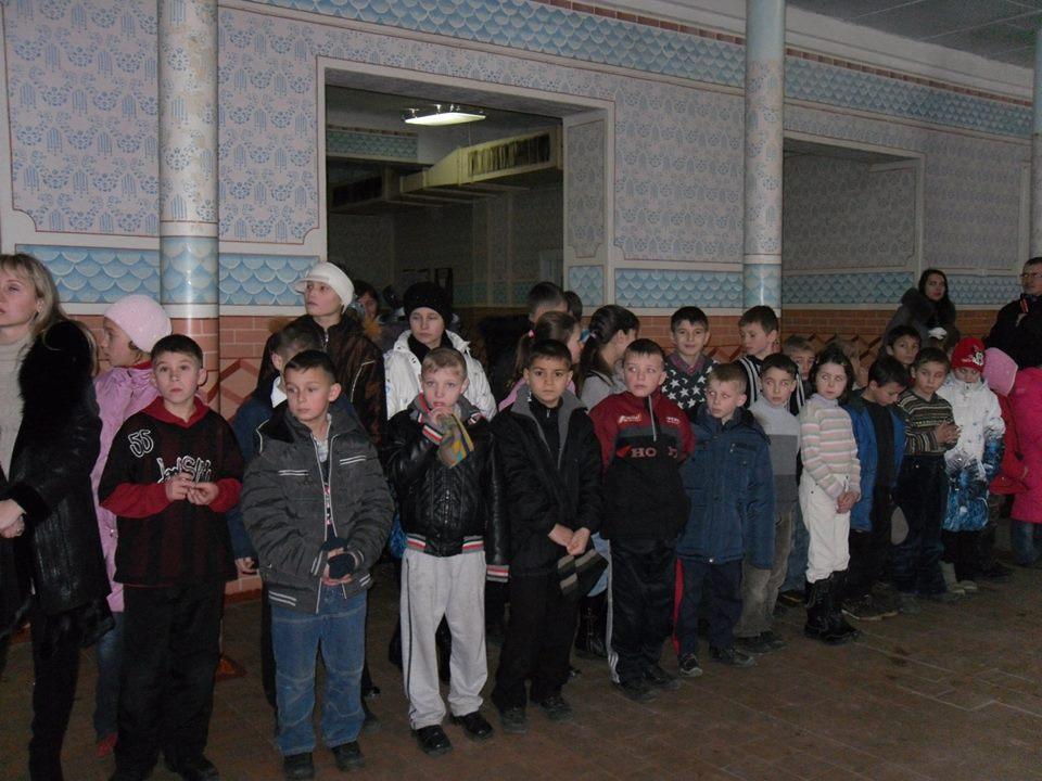 Copiii din Tighina au primit ajutoare din România