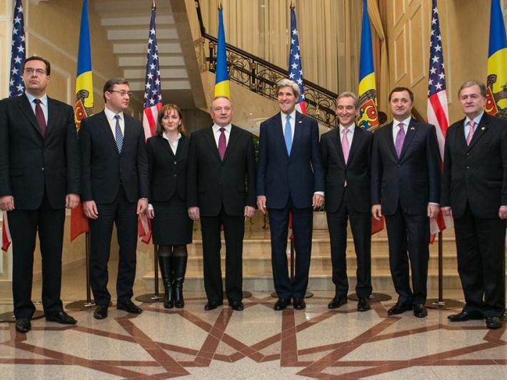 """Timofti către John Kerry: ,,Avem nevoie de SUA"""""""