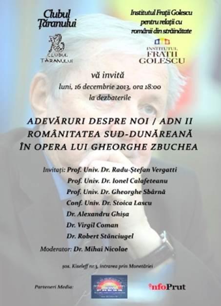 Dezbatere despre românitatea sud-dunăreană la MȚR
