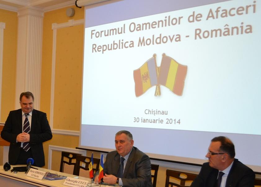 Oameni de afaceri din Rep. Moldova și România s-au întâlnit la Chișinău