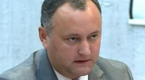 """Primul """"efect"""" al mandatului de preşedinte? Dodon vorbeşte despre el la persoana a III-a: """"Dodon Igor va merge în vizită la Tiraspol"""""""