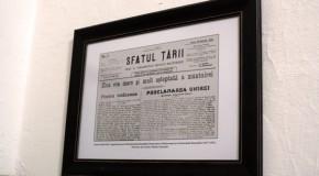 27 martie 1918 – 27 martie 2018: Centenarul Unirii Basarabiei cu România